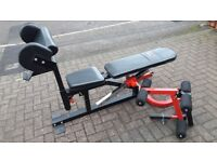 BODYMAX CF510 ELITE UTILITY Flat-Incline-Decline WEIGHTS BENCH