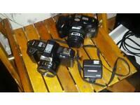 X2 1980's cameras
