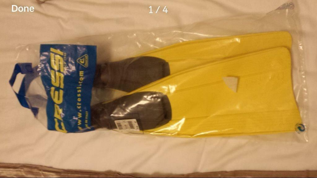 Cressi Swimming flippers size 4/5
