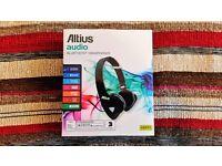 Altius Audio Bluetooth Headphones - Black