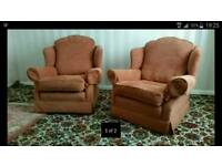 Free pair of Armchairs