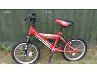 Raleigh Champion Boys bike age 3-5