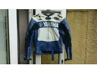 Yamaha Leather Motor cycle jacket