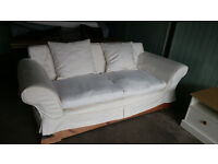 Vintage Wooden Sofa And Armchair *Delivery Available*