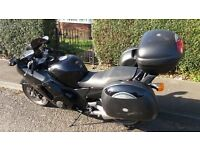 HONDA BLACKBIRD CBR 1100XX SUPER 1998 WITH FULL LUGGAGE