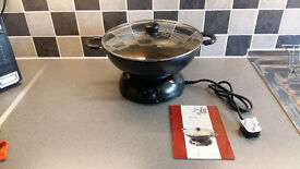 Oriental electric wok