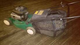 Broken lawn petrol mower (parts/repair)