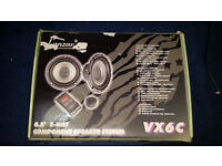 "Lanzar VX6C 6.5"" Component Speakers (not JL Audio, MTX, Pioneer, Alpine, Sony) ICE, bass, car system"