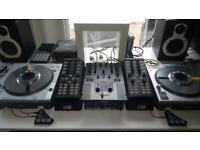 Full DJ setup. Open to offers. Details on description. Technics / Denon / Traktor