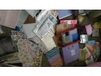 Card craft job lot