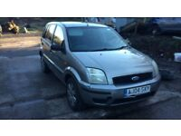 2004 Ford Fusion 2 Semi Auto 5dr Hatchback Petrol 1.4L Silver BREAKING FOR SPARES