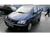 BREAKING Vauxhall zafira 1.6l petrol 2002