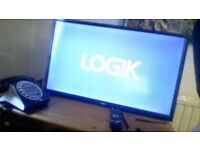 32 Inch Logik Tv with remote