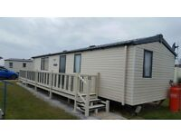 Family caravan to rent on happy days site chapel st lenoards