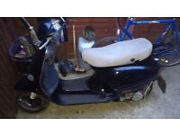 Spare or repair 50 cc vespa start up fine but drive belt has gone