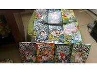 Captain Underpants almost new 10 books