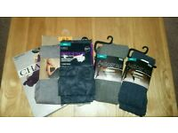 4 tights 1 pair of legins. Never been worn will fit uk 8_12