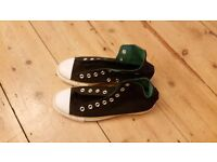 Brand new black Converse All Star mens high tops with black laces - UK Size 7, never worn