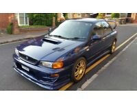 1999 Subaru Impreza WRX UK2000 2.0 Turbo, Blue, Modified, STI Rep