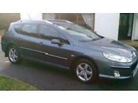 2006 Peugeot 407 estate 1.6 hdi full years Mot today service history all new parts for Mot