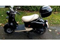 Scooter Black 49cc Collection only from Woking