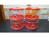 Rotastak Round Hamster Cage and Accessories