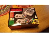 SNES Mini Classic - brand new, unused