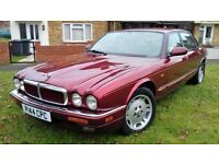 used almost daily, no rust usual jag refinement, includes cdplayer and tow bar