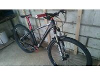 "CUBE mens 17"" frame bicycle (perfect condition) £350"