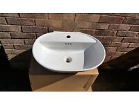 Bathroom Sink - Wall\Cupboard mounted - BRAND NEW!! REDUCED TO SELL