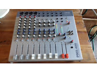 12 Channel powered 600w (rms) mixer