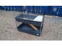 LARGE FERPLAST TWO TIER PET CAGE