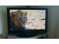 """42"""" Plasma TV & remote - HD ready - built in freeview tuner"""