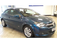 2007 07 VAUXHALL ASTRA 1.6 SXI 3D 115 BHP *PART EX WELCOME*24 HOUR INSURANCE*WARRANTY*