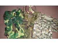 Boys army outfit.. Age 7-8 ex con, £16.00 or ovno.