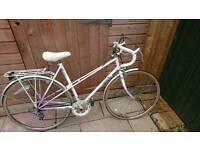 Ladies raleigh racing bike