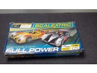 Scalextric Full Power set including two Le Mans cars