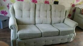 G Plan three piece suite with recliner