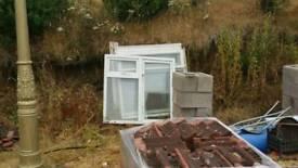 4 pvc windows used 120*120cm