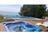 lovely house with amazing sea view,private pool;Black Sea,Bulgaria