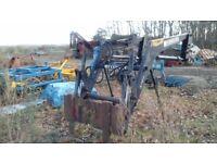 Fornt end tractor loader