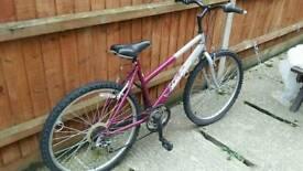 Raleigh mtb bike , 18 inch frame