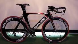 Cervelo p2 time trial bike