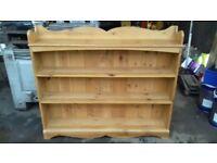 Large pine book shelf