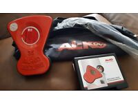 Alko 35 secure wheel lock with full kit and carry bag. New and unused. £60. No timewasters please.