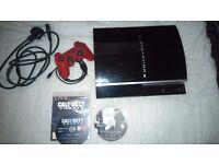 PlayStation 3, 80GB + COD Ghosts
