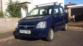 LOW MILAGE: Vauxhall Agila 2005, Reluctant sale