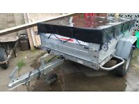Trailer Erde 142. Good condition with cover
