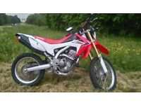 Honda CRF250L Low Miles Excellent Condition + Extras £2700ono Buckingham