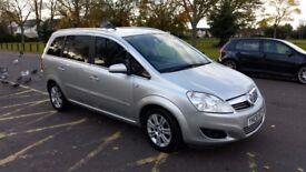 2008 Vauxhall Zafira 1.8 i 16v Design 5dr Fully HPI Cleare 1 Former Keeper @07725982426@
